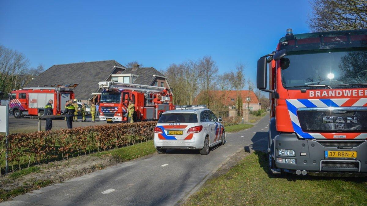 Woningbrand in Paasloo snel geblust dankzij brandalarm