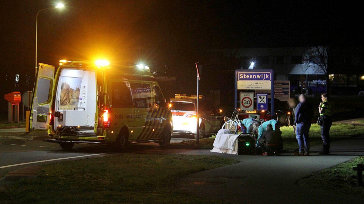Gewonde bij ongeval aan de Broekslagen in Steenwijk