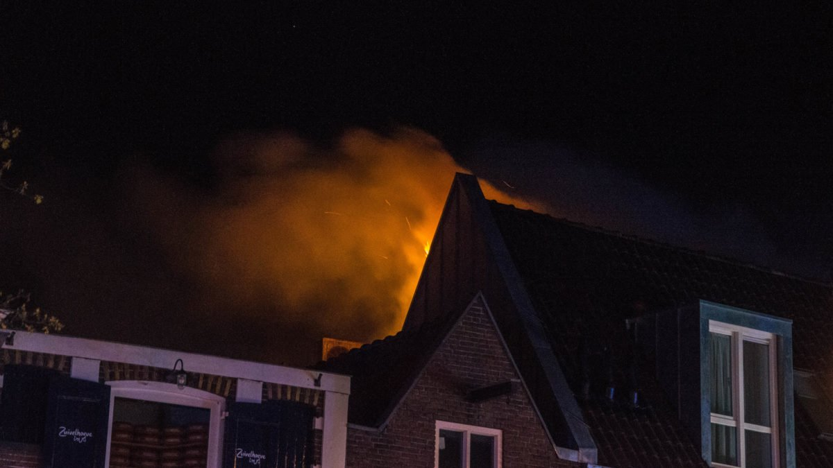 Uitslaande brand snel geblust in Meppel