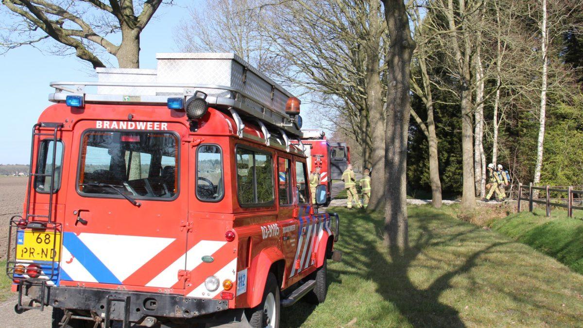 Penetrante lucht aan de Gierwal in Eesveen