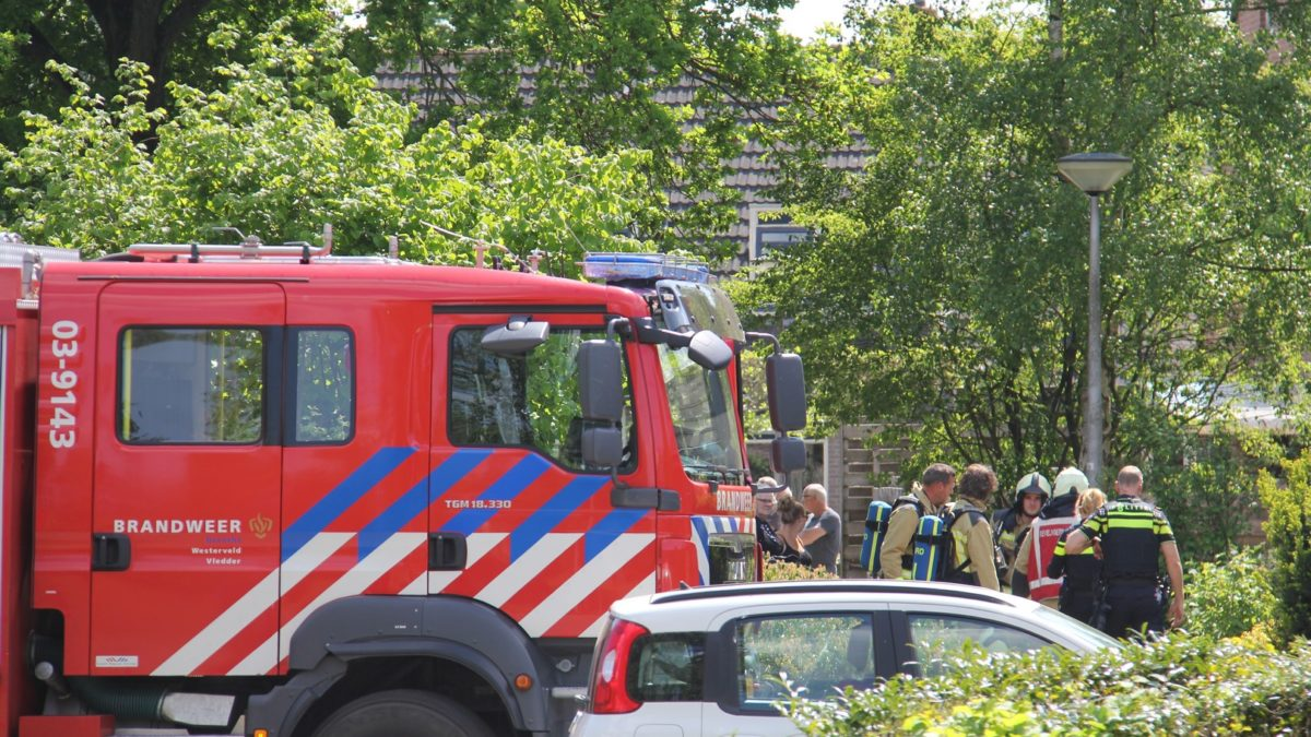 Brandweer Vledder verleend assistentie op verzoek van de politie