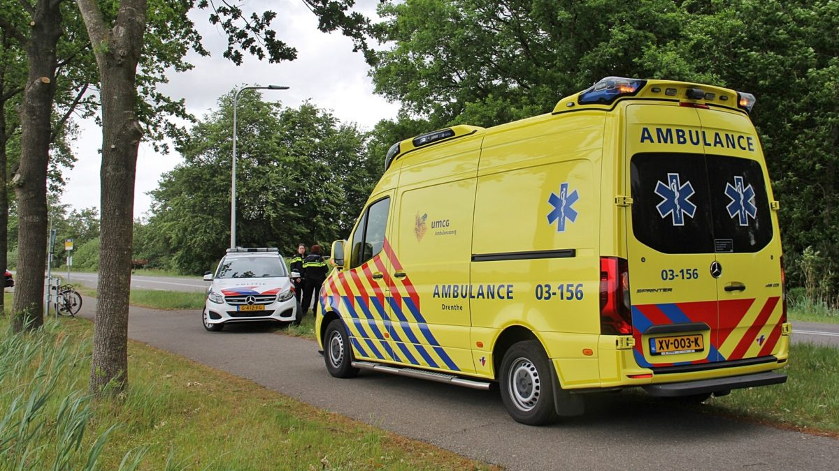 Fietser gewond bij ongeval op de Steenwijkerstraatweg in Meppel