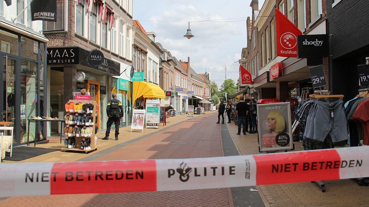 Persoon met vuurwapen gezien in de Oosterstraat te Steenwijk