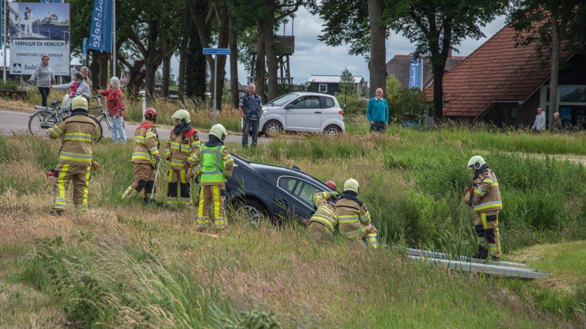 Bestuurder aangehouden na eenzijdig ongeval in Giethoorn