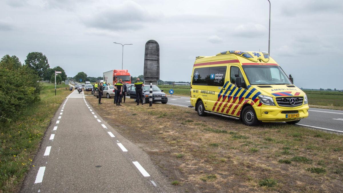 Fietsster aangereden op Blokzijlseweg in Steenwijk