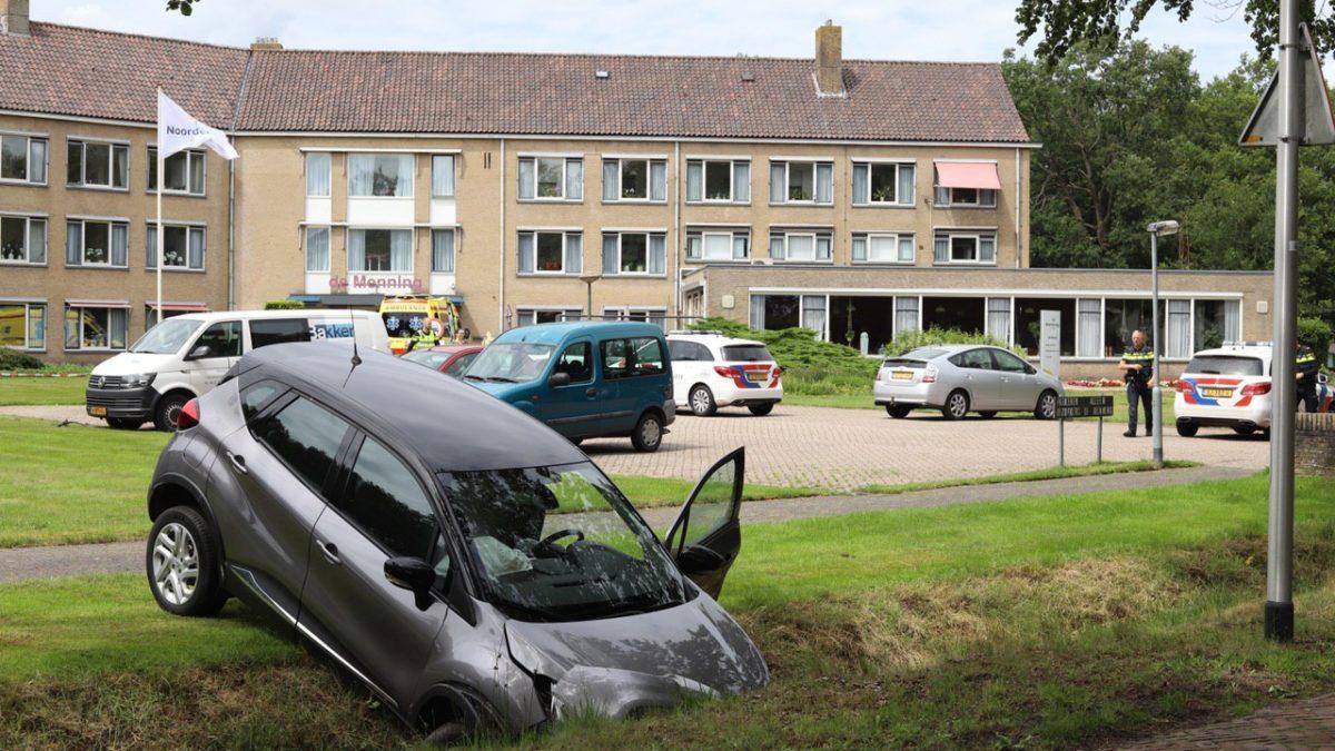 Ongeval op parkeerterrein van bejaardentehuis in Wilhelminaoord