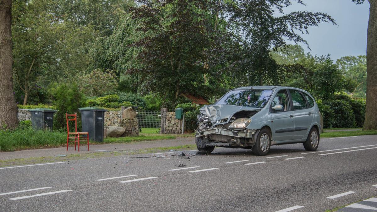 Schade bij ongeval op Meppelerweg in Steenwijk
