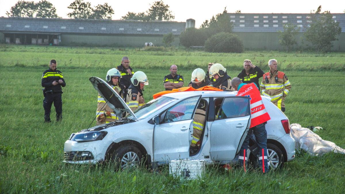 Drie gewonden bij ongeval nabij Scheerwolde