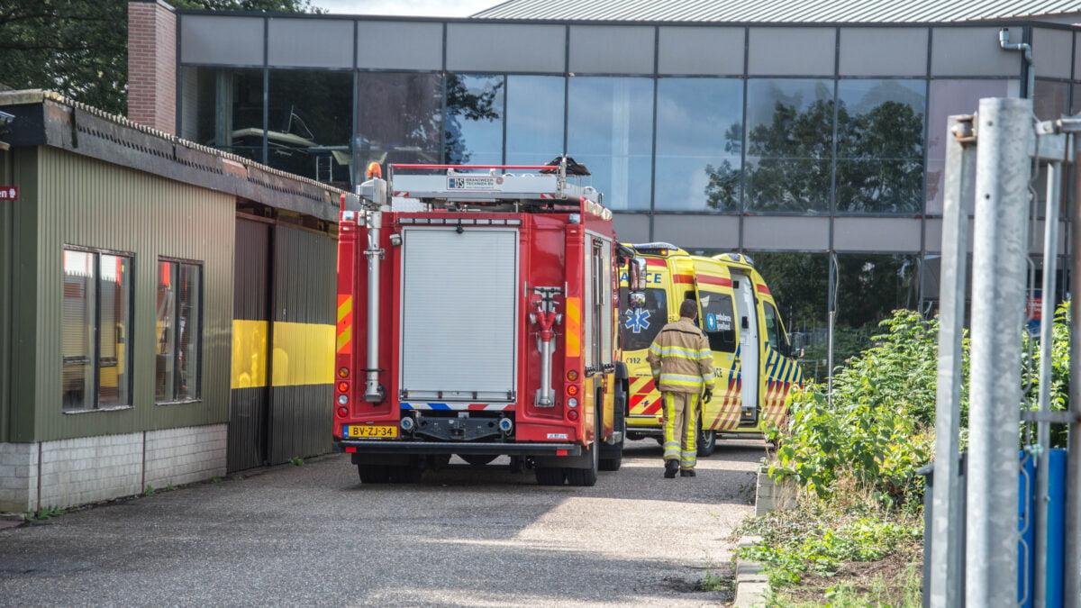 Gewonde na brand in boot bij werkzaamheden in Steenwijk