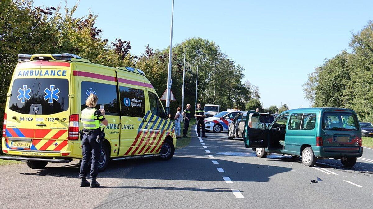Gewonde bij ongeval op Beulakerweg bij Wanneperveen