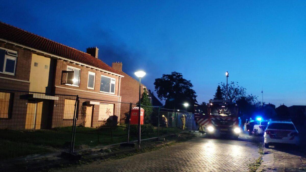 Opnieuw brand achter sloopwoning in Steenwijk