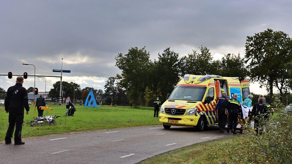 Motorrijder gewond na eenzijdig ongeval bij Tuk