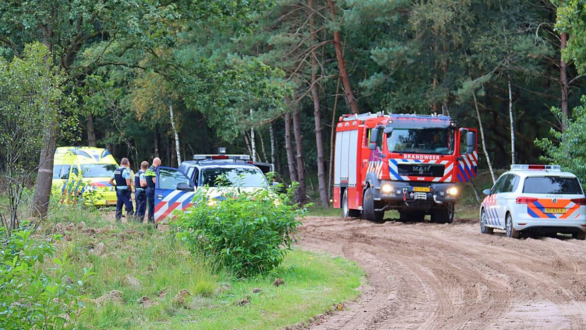Mountainbiker gewond in natuurgebied Holtingerveld