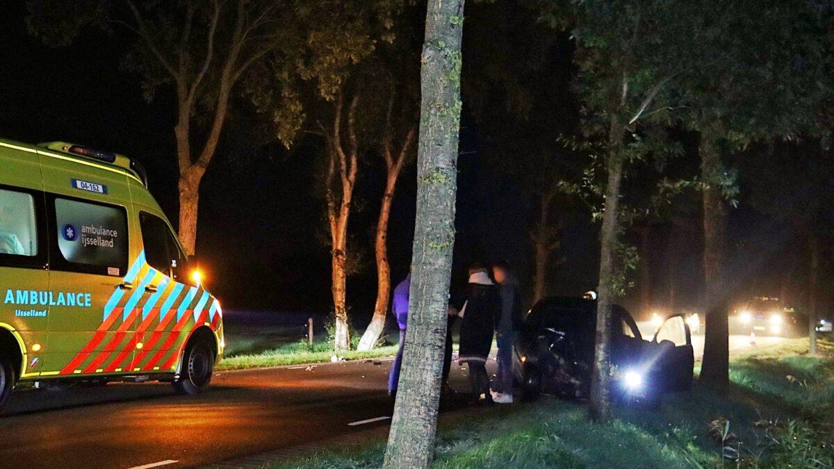 Ongeval met letsel op de J.J. Gorterlaan in Staphorst