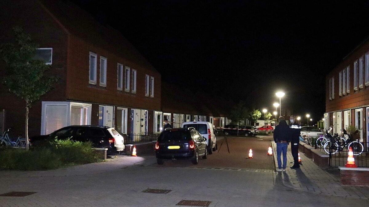 Woning beschoten aan de Aastraat in Steenwijk
