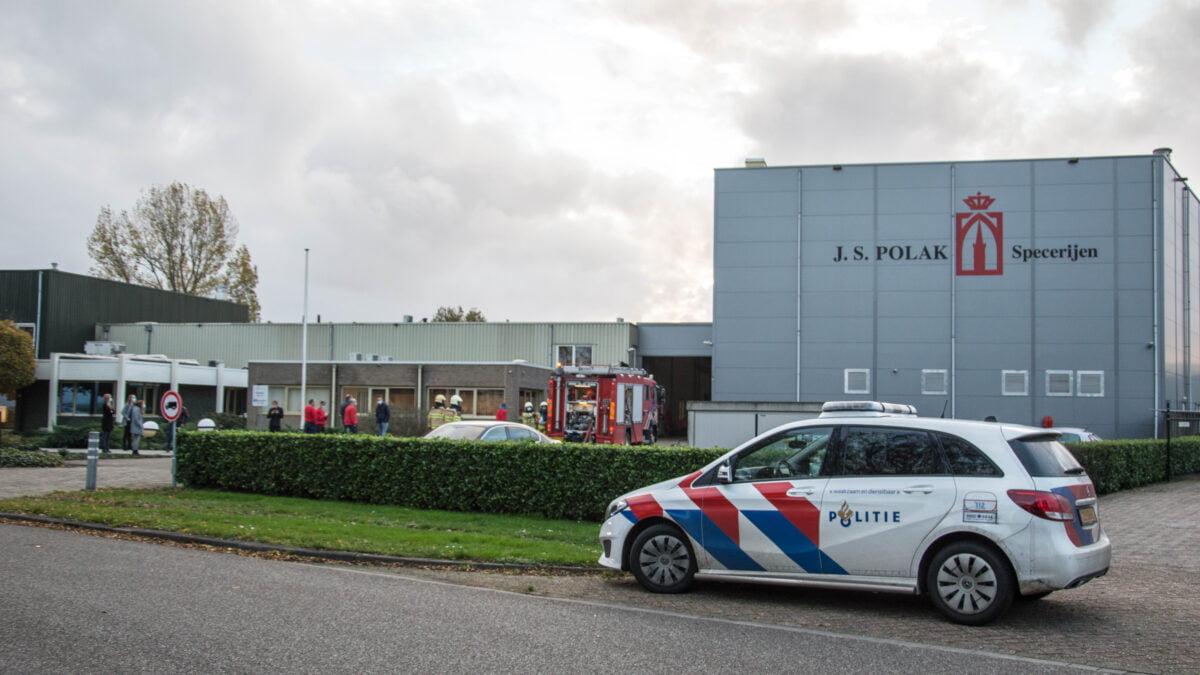 Brand in specerijenfabriek in Steenwijk (update)