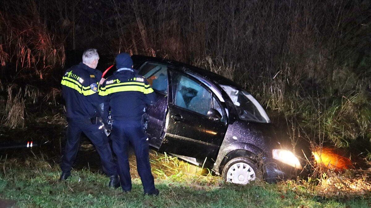 Automobilist verlaat plaats ongeval in Meppel