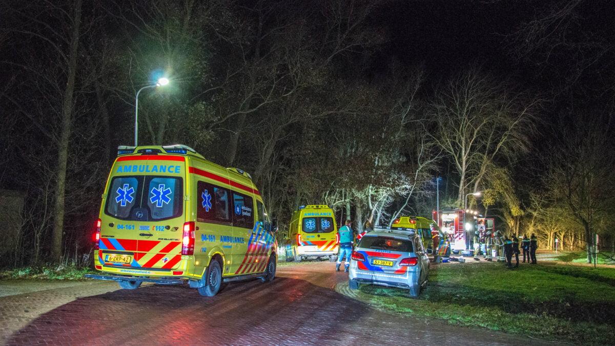 Bestuurder ernstig gewond bij eenzijdig ongeval in Havelte