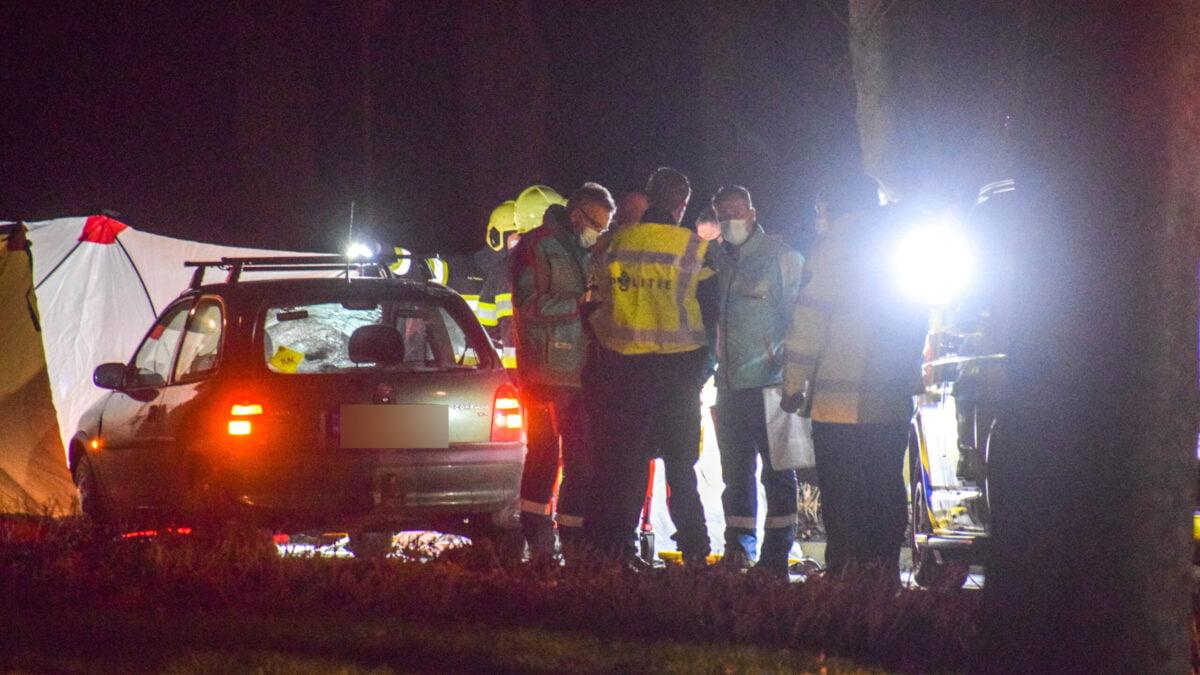 Vrouw (87) overleden bij ongeval op Steenwijkerweg bij Wolvega