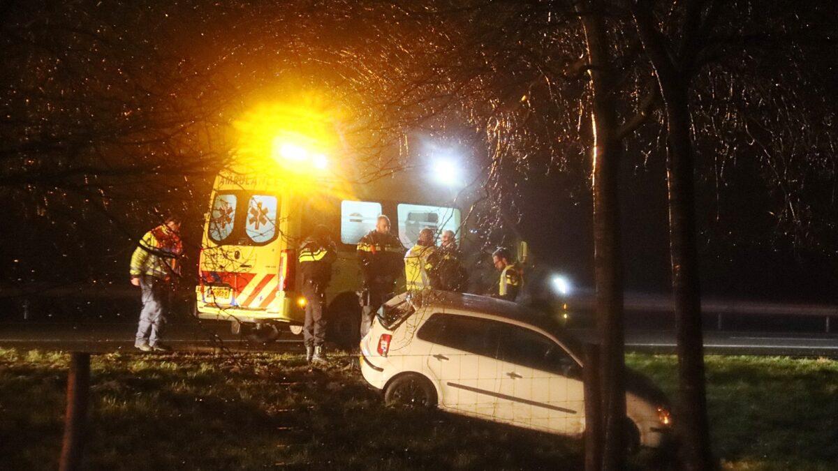 Ongeval op de A32 bij Havelterberg