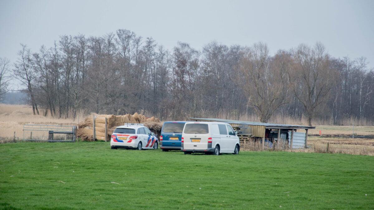 Persoon overleden bij rietbranden in Sint Jansklooster