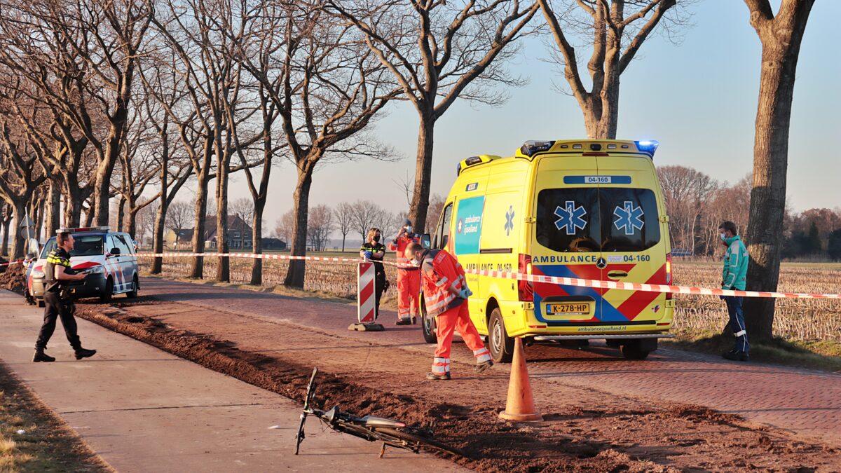 Fietser zwaargewond bij val in Kallenkote