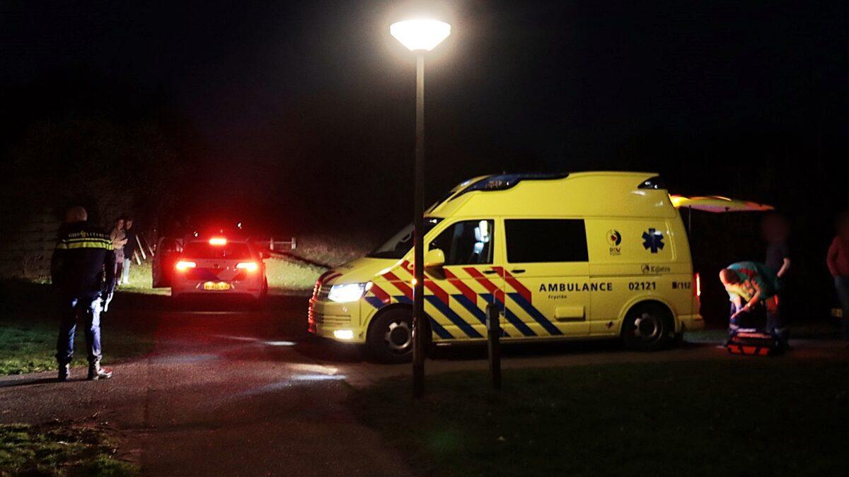 Mobiel medisch team assisteert bij medische hulpverlening in Steenwijk