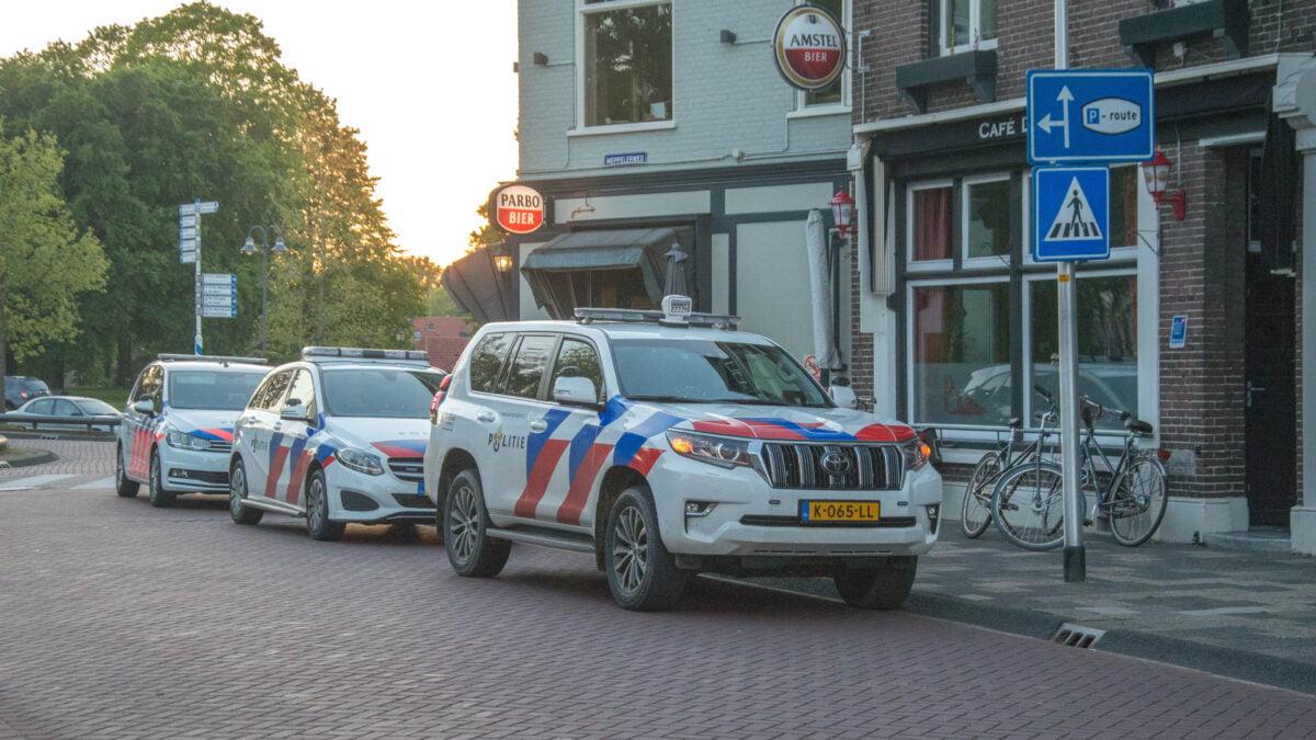 Politie rukt uit na escalatie fietsendeal in Steenwijk