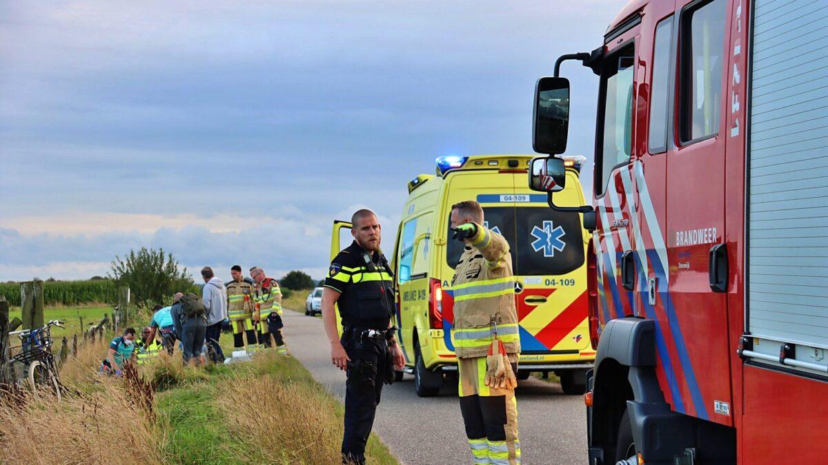 Vrouw gewond na val van paard op de Halfweg in Steenwijk