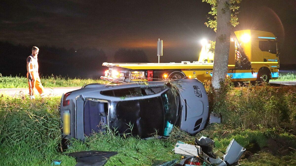 Politie houdt bestuurder aan na ongeval bij Havelte